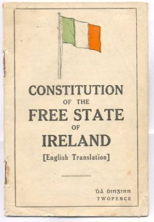 Constitution of the Free State of Ireland