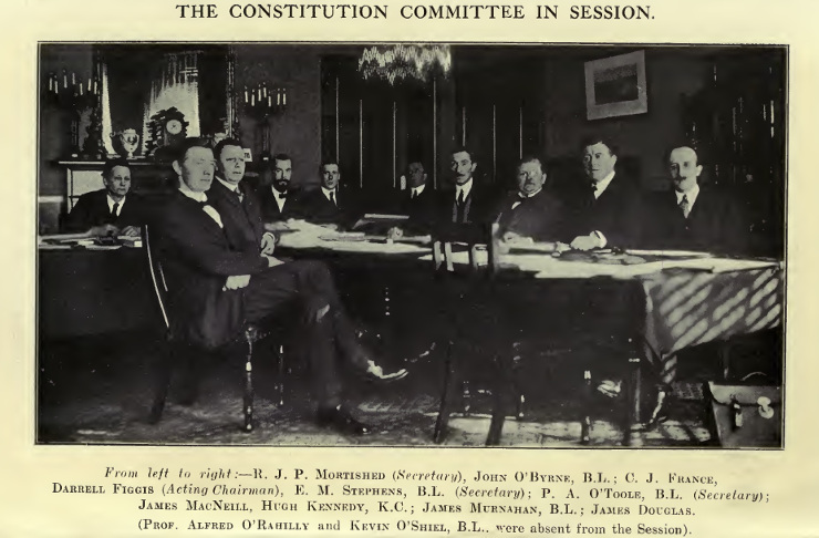 The Constitution Committee in session 1922