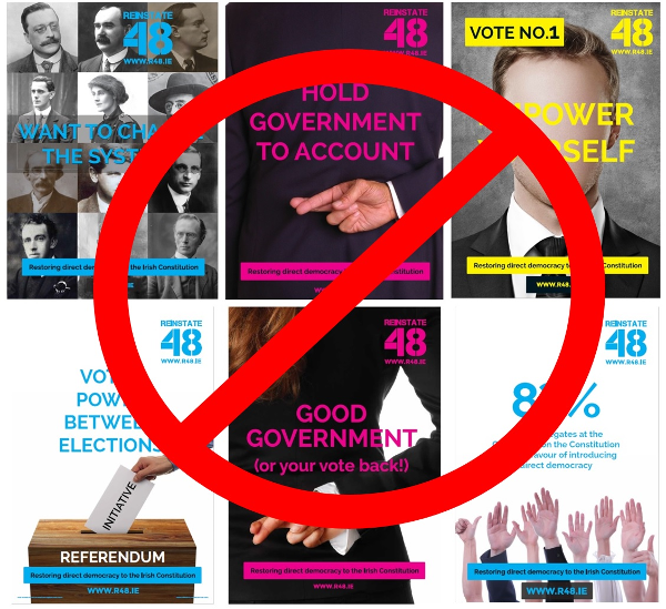 Poll: Do you think the R48 posters relate to the general election?
