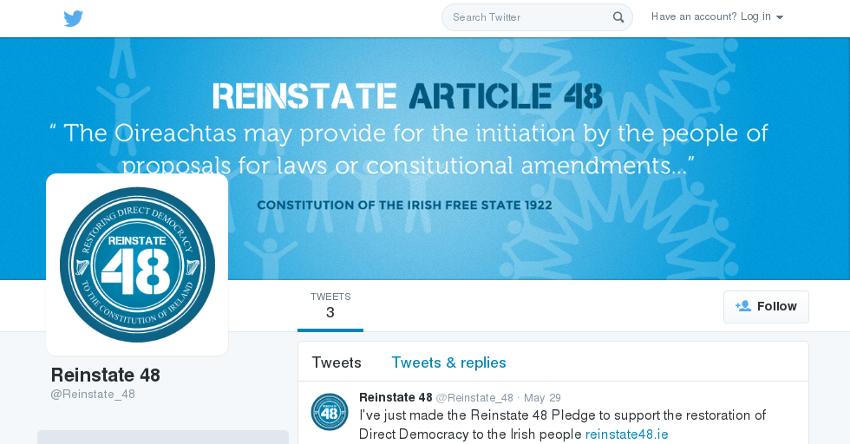 R48 on Twitter
